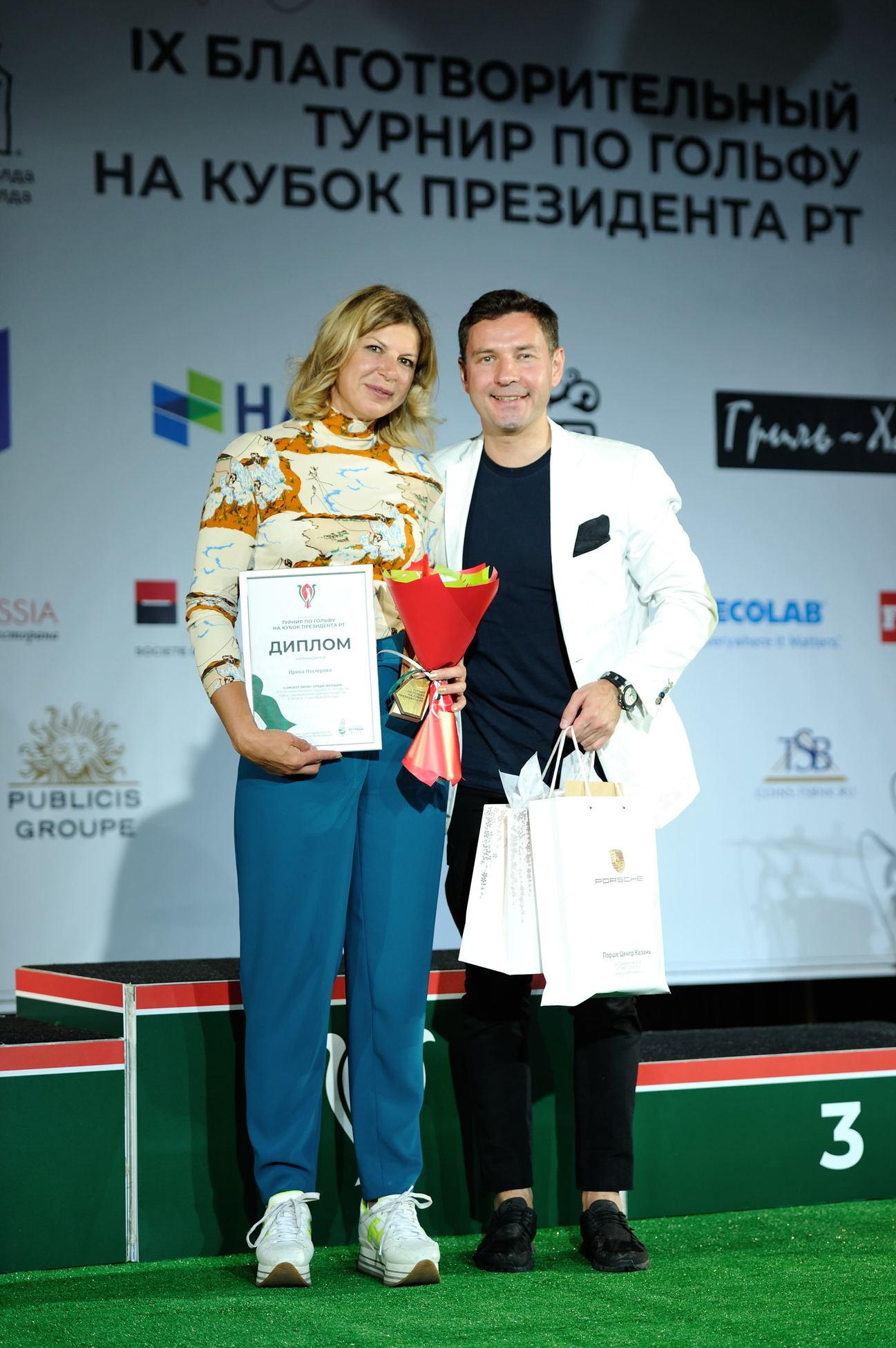Официальные результаты IX Благотворительного турнира на Кубок Президента РТ