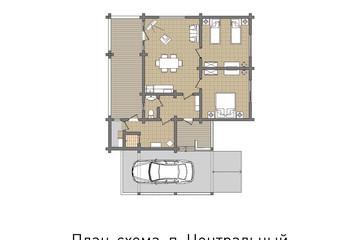 Альпийские домики для 4 человек