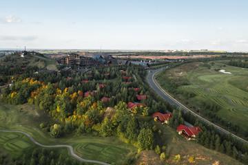 Улучшенные дома с видом на гольф-поле