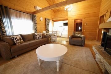 Улучшенные домики для 4 человек