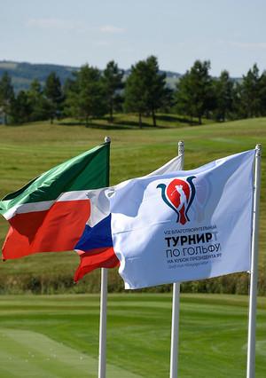 Старт турнира по гольфу на Кубок Президента Татарстана