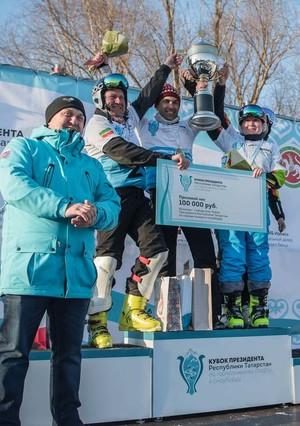 Победители Кубка Президента РТ по горнолыжному спорту и сноуборду