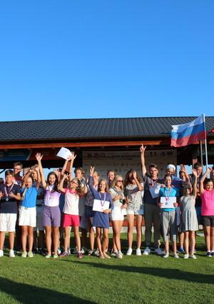 Школа гольфа для детей