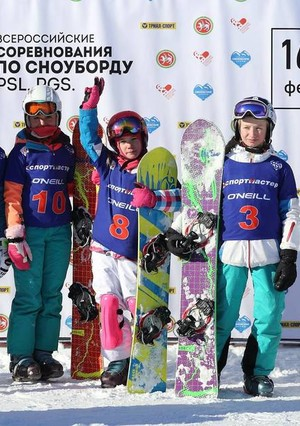 Итоги всероссийских соревнований по сноуборду