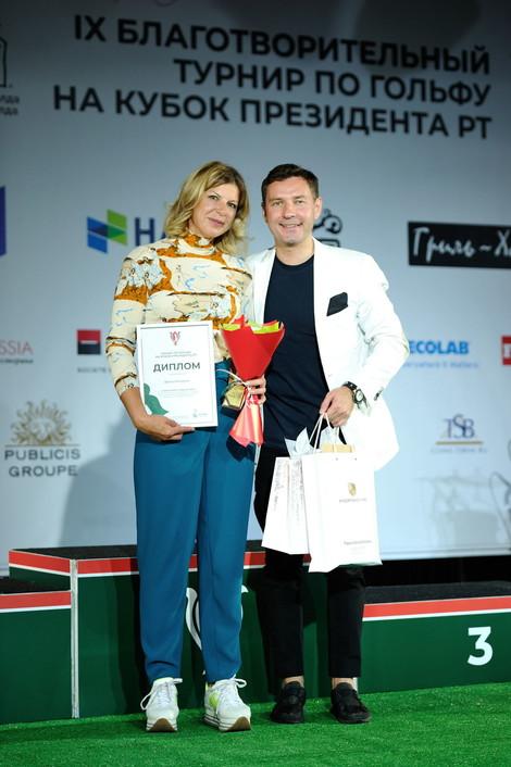 Официальные результаты IX Благотворительного турнира на Кубок Президента